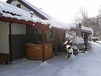 Kanadský srub - srub - 32 Holčovice - Komora