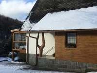 Zima na chatě - Kopřivná - Lužná