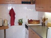 kuchyňka - ubytování Velké Losiny