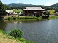 Rybník Kocián - chalupa k pronajmutí Kouty nad Desnou