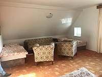 Jeden z pokojů v chalupě