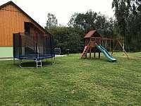 dětské hřiště - chata k pronajmutí Horní Václavov