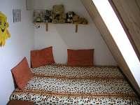 3 lůžková ložnice - chata k pronájmu Filipovice