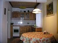 Kuchyň - pronájem chaty Filipovice