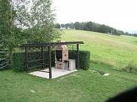 letní posezení - chata ubytování Filipovice