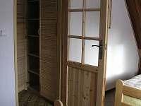 uložné prostory - chata k pronajmutí Filipovice