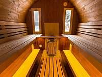 Interiér - chalupa ubytování Červený Potok