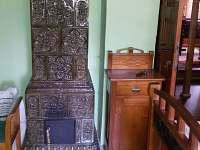 Ložnice č. 1 s manželskou postelí - chata k pronájmu Heřmanovice