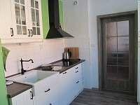 Kuchyně-linka - apartmán k pronájmu Loučná nad Desnou