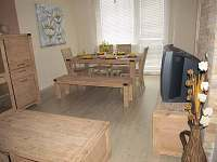 Obývací pokoj-jídelna - apartmán ubytování Loučná nad Desnou