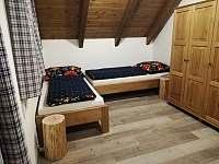 2. ložnice - chata k pronájmu Karlovice
