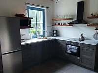 kuchyň - pronájem chaty Karlovice