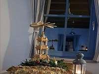 vánoce u nás - pronájem chaty Karlovice