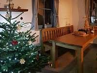 vánoce u nás - chata k pronájmu Karlovice