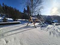 zimní zahrada =) - chata k pronájmu Karlovice