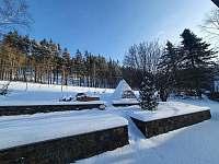 zimní zahrada =) - pronájem chaty Karlovice