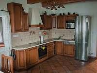 kuchyňský kout - chalupa ubytování Hynčice pod Sušinou