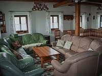 obývací část - chalupa ubytování Hynčice pod Sušinou