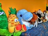 dětský koutek plný hraček - Filipovice