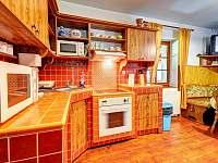 Apartmán č. 1, kuchyně - Kouty nad Desnou