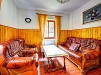 Apartmán č. 1 obývací část - ubytování Kouty nad Desnou