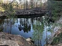 Lom Rokliny - 1 km od chaty - k pronájmu Černá Voda - Rokliny