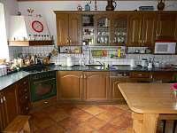 kuchyň - chalupa k pronajmutí Supíkovice