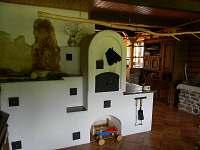 společenská místnost - pronájem chalupy Supíkovice
