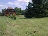 zahrada - chalupa k pronájmu Supíkovice