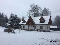 Chata Zlatěnka-celkový zima -