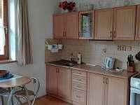Kuchyň A - chata k pronajmutí Zlatý Potok
