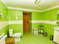 koupelna - chalupa ubytování Nová Seninka