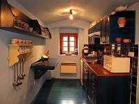 Přízemí - kuchyně