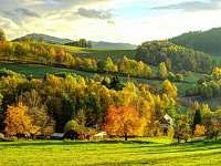 Okolí objektu na podzim