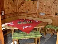 Altánek - chata ubytování Branná