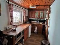 Kuchyň - pronájem chaty Rejvíz