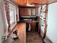 Kuchyň 2021 - chata k pronájmu Rejvíz