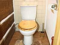 Malé WC - chalupa k pronajmutí Jindřichov
