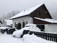 Zimní pohoda - chalupa ubytování Horní Moravice