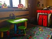 Dětský koutek v restauraci - ubytování Lipová lázně