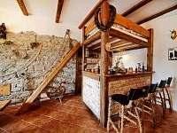 Obývací pokoj AP č.1 - chata k pronájmu Malá Morava