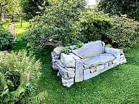 Posezení zahrada - Malá Morava