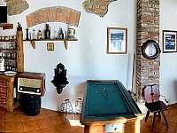 Společenská místnost - Malá Morava