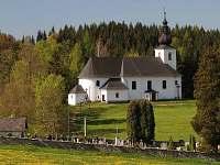 kostel Nové Losiny - pronájem chaty