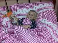 spaní ve velké místnosti - Ondřejovice