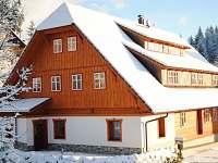 ubytování  v apartmánu na horách - Ostružná