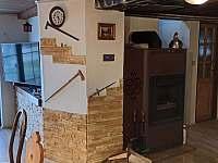 obývací kout s kuchyní - Žďárský Potok