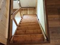 schody do podkroví - Žďárský Potok