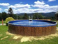 Bazén - chata k pronajmutí Filipovice