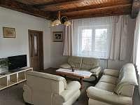 Obývací pokoj chata - k pronájmu Filipovice